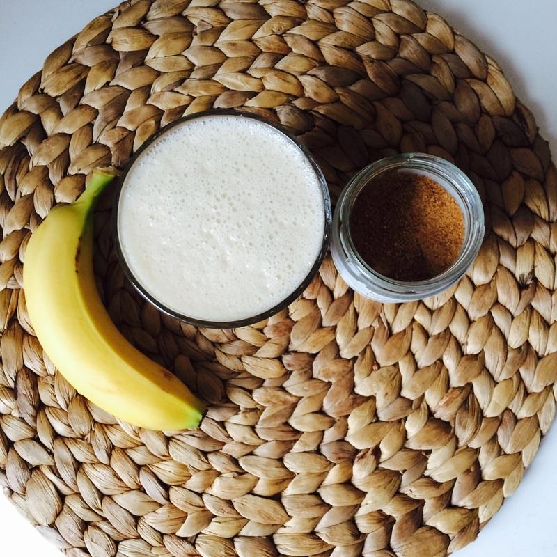 Banánový milkshake / Banana milkshake