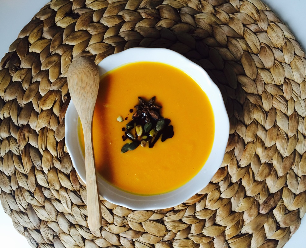 Tekvicová polievka na zahriatie / Pumpkin warm up soup