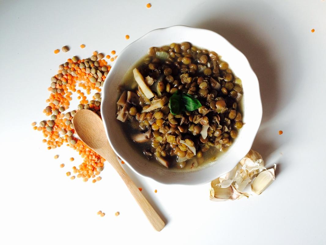 Šošovicová polievka / Lentil soup