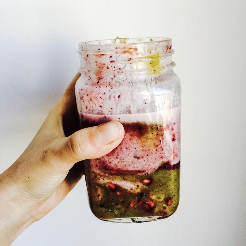 Farebné smoothie / Color smoothie