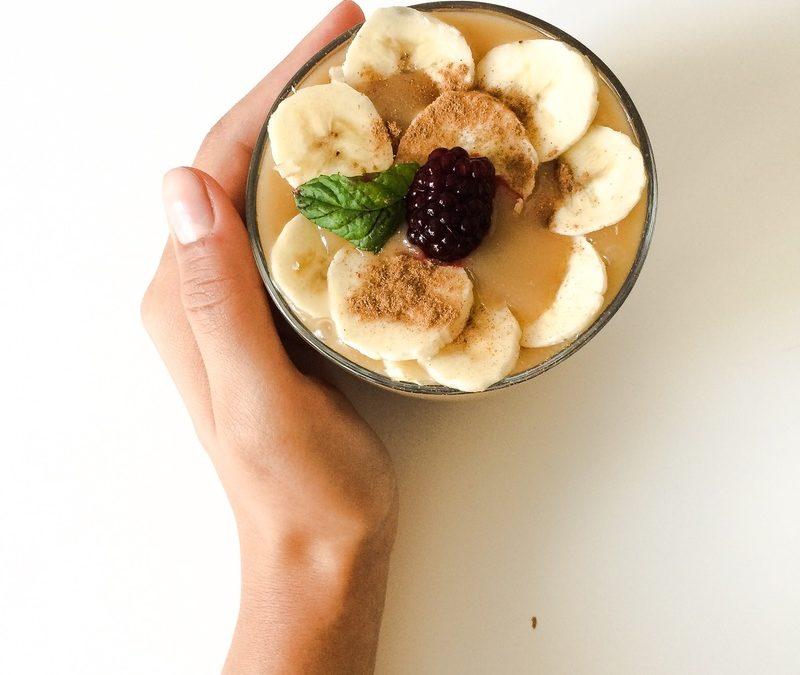 Karamelovo – vanilkový puding