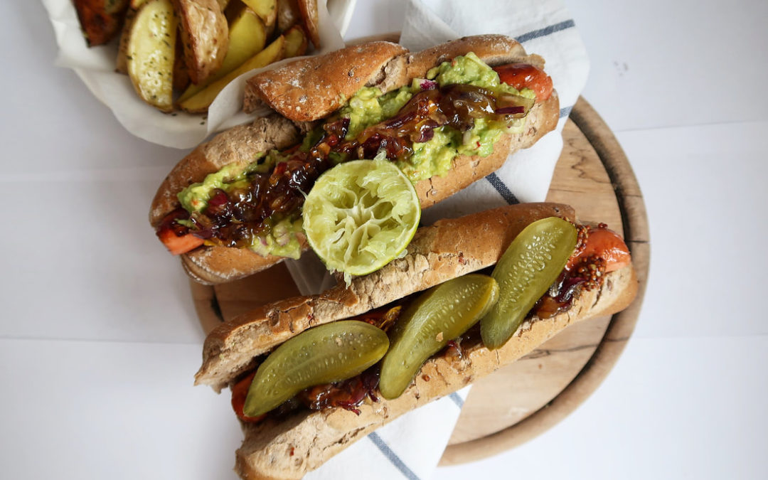 Vegánsky hot – dog
